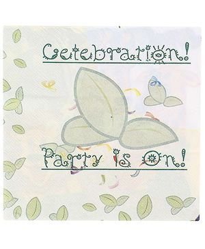 Birthdays & Parties Paper Napkins Jungle Theme - 10 Pieces