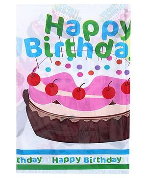 Birthdays & Parties Table Cover Birthday Print - Multi Colour