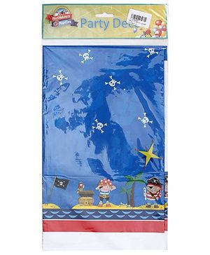 Birthdays & Parties Table Cover Pirates Theme - Multi Colour