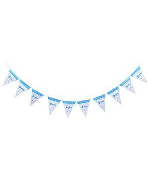 Birthdays & Parties Banner Baby Boy Theme - Multi Colour