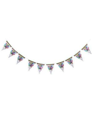Birthdays & Parties Banner Birthday Theme - Multi Colour