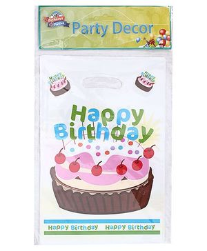 Birthdays & Parties Carry Bags Birthday Print - 10 Pieces