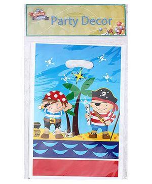 Birthdays & Parties Carry Bags Pirates Print - 10 Pieces