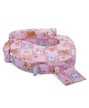 Babyhug Feeding Pillow - Pink