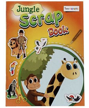 Chitra Gogo Kids Jungle Scrap Book - 50 Pages