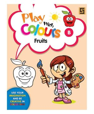 Play With Colors Fruits - English