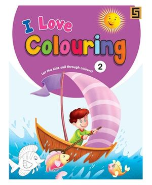 I love Coloring Volume 2 Book - English