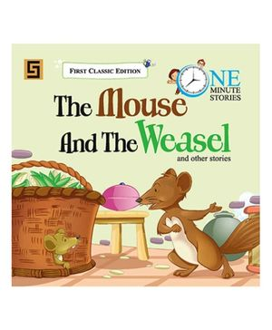 Golden Sapphire The Mouse And the Weasel Story Book - English