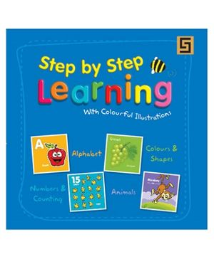 Golden Sapphire Book Step By Step Learning - English