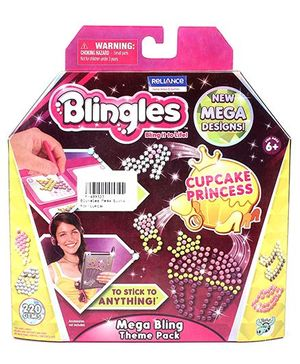 Blingles Mega Bling Theme Pack - Cupcake Princess