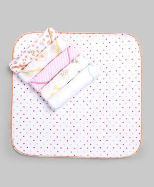 Multicolor Polka Dot 6 Piece Set