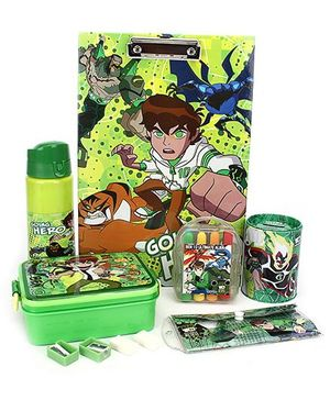 Ben 10 School Kit - Set of 7