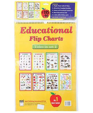 Apple Books Educational Flip Charts Set 2 - English
