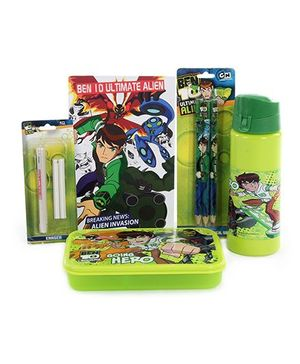 Ben 10 School Kit - Set of 5