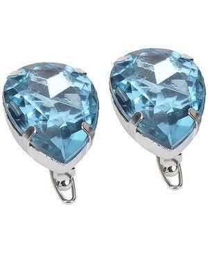 Addon Hair Clips - Blue Diamonds