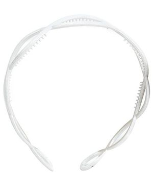 Addon Hair Band Solid White