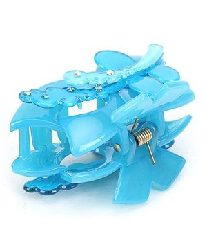 Addon Hair Clutcher Butterfly Clip - Blue