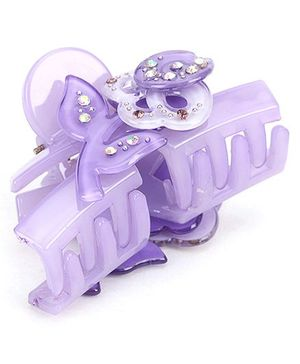 Addon Hair Clutcher Butterfly Clip - Purple