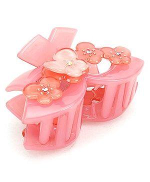 Addon Hair Clutcher Butterfly Clip - Pink