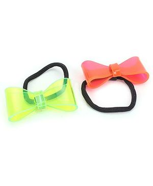 Addon Rubber Band Bow Design - 1 Pair
