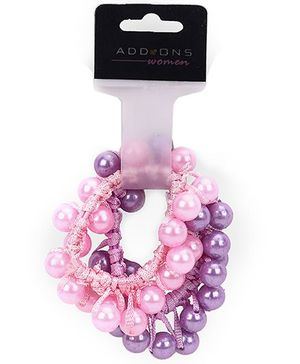 Addon Rubber Band - Pink And Purple
