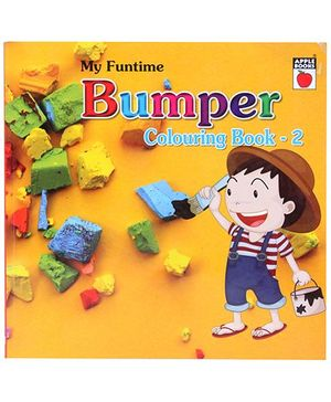 Apple Books My Funtime Bumper Coloring Book 2 - English