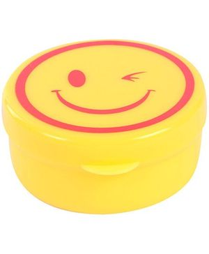 Fab N Funky Collapsible Cup Yellow - Smiley Design