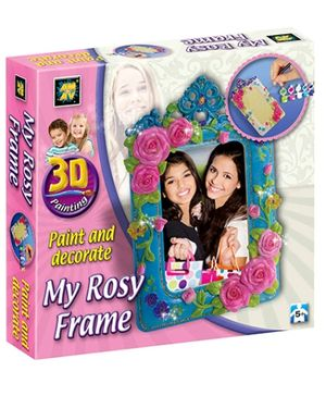 3D Painting - My Rosy Frame