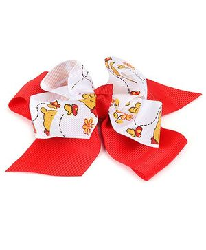 Disney Hair Clip - Red And White