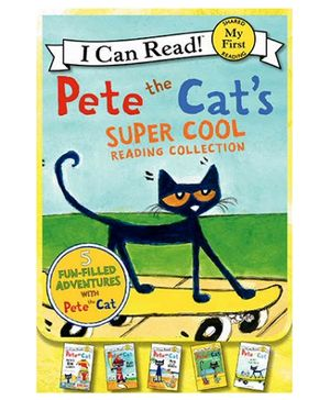 Harper Collins Pete The Cats Super Cool Reading Collection - Set of 5