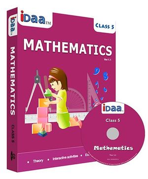 iDaa CD CBSE Mathematics Class 5 - English