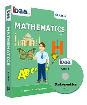 iDaa CD CBSE Mathematics Class 6 - English