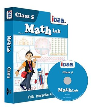 iDaa CD CBSE Math Activity Class 5 - English