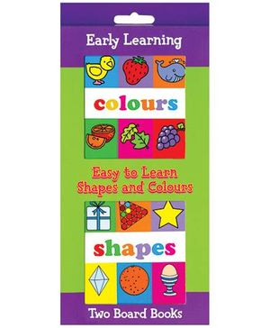 Easy To Learn Shapes And Colours - English