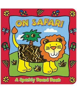 Sparkly Board Book On Safari - English