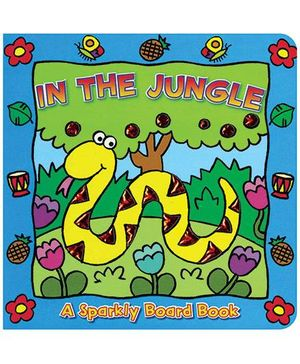 Sparkly Board Book In The Jungle - English
