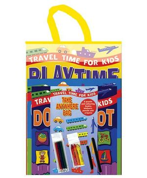 Travel Time For Kids Playtime Gift Pack - English