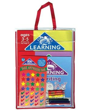 First Time Learning The Alphabet Gift Pack - English