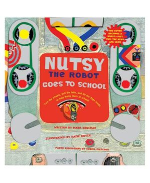 Nutsy The Robot Goes to School - English