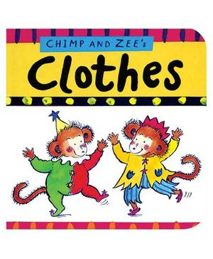 Shree Book Centre Chimp and Zees Clothes - English