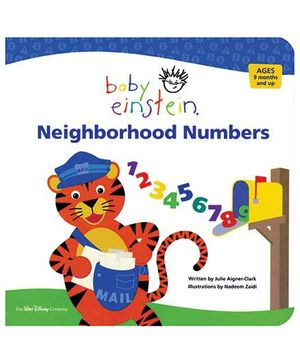 Baby Einstein Neighborhood Numbers - English