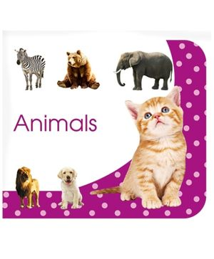 Art Factory Animals Board Book - English