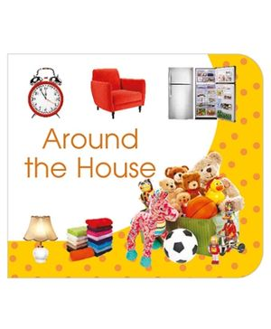 Art Factory Around The House Board Book - English