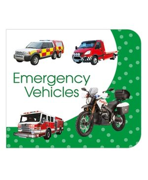 Art Factory Emergency Vehicles Board Book - English