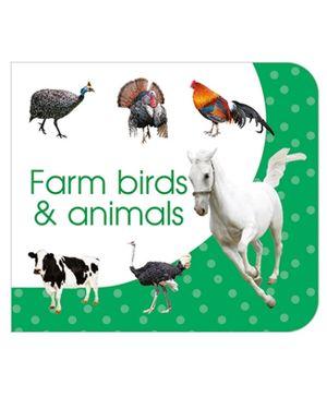 Art Factory Farm Birds And Animals Board Book - English