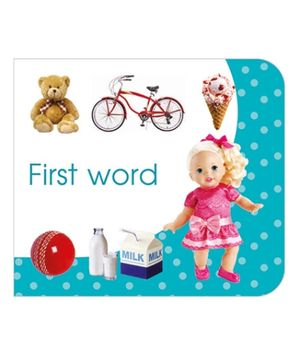 Art Factory First Word Board Book - English