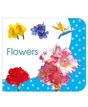 Art Factory Flowers Board Book - English