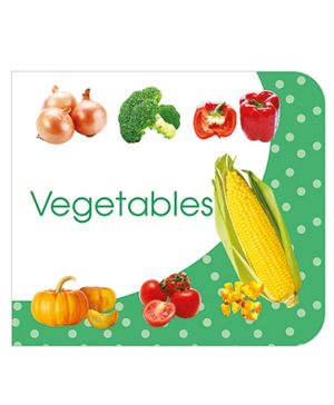 ART Factory Vegetables Board Book - English