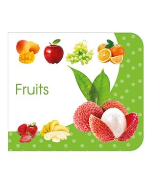 Art Factory Fruits Board Book - English