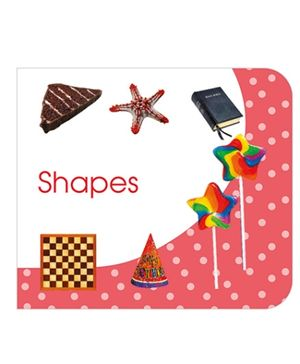 Art Factory Shapes Board Book - English